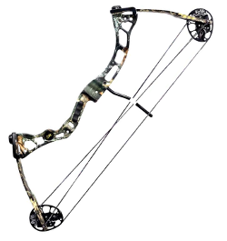 Micro Midas Compound bow in Mossy Oak Break-Up finish