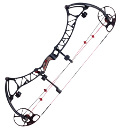 image of a compound bow by Bowtech Archery