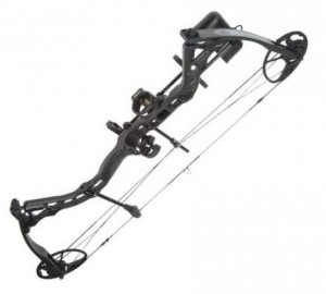 Image of the Infinite Edge compound bow by Diamond in BlackOps finish