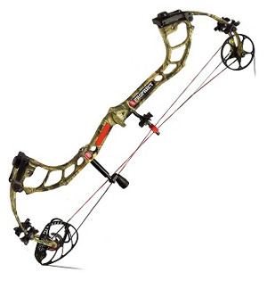Prophecy bow by PSE in Mossy Oak Break-Up Infinity finish